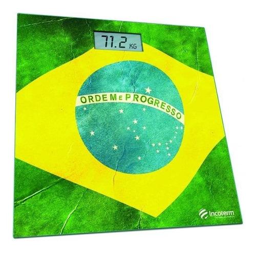 balança digital corporal bandeira do brasil incoterm