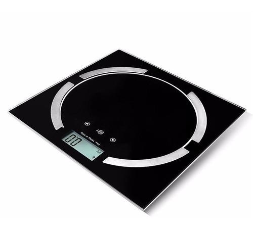balança digital c/taxa gordura, água, massa muscular e óssea