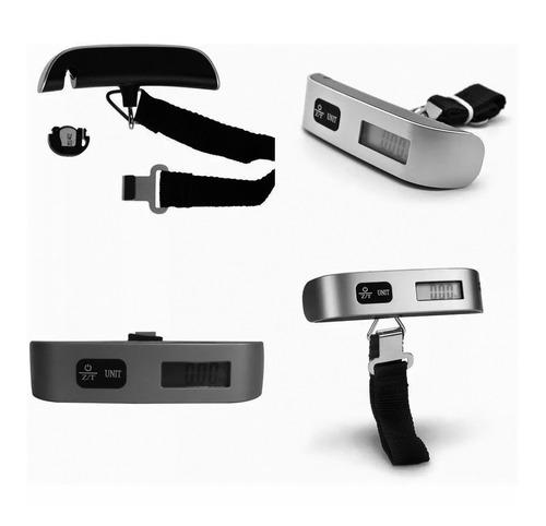 balança digital portátil até 50kg mão trava mala bagagem