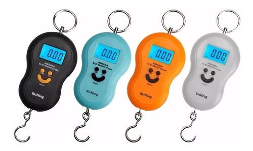 balança digital portátil de gancho alta precisão até 50kg