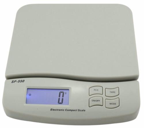 balança digital precisão até 25kg - feira cozinha alimento