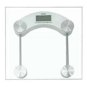 Balança Digital Quadrada Vidro Temperado Banheiro Academias