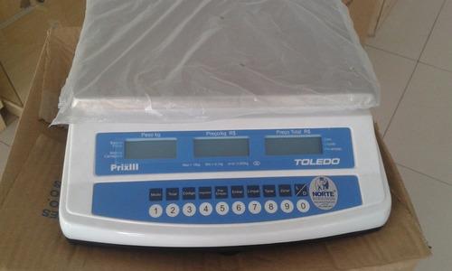 balança digital toledo prix iii light 15kg com bateria