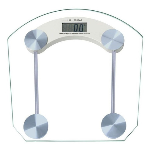 balança digital vidro temp. 180kg banheiro peso frete grátis