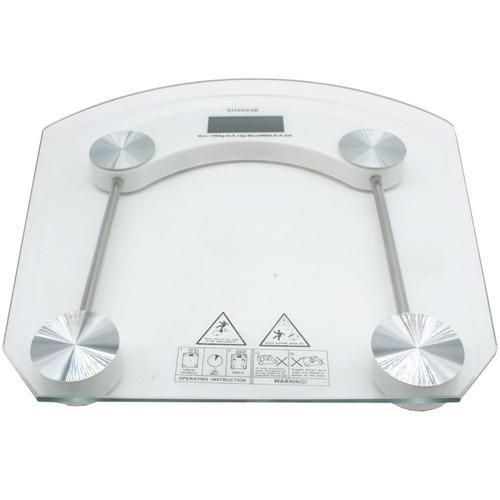 balança digital vidro temperado banheiro academias até 180kg