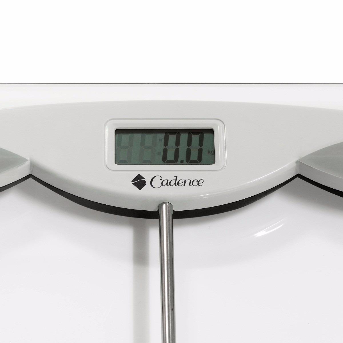 Balança Eletrônica Cadence. Capacidade 150kg R$ 72 00 em Mercado  #4B5950 1200x1200 Balança De Banheiro 150 Kg