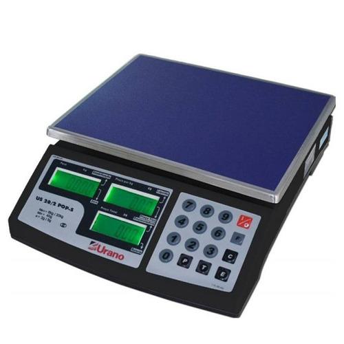 balança eletrônica computadorizada 20kg bateria 200h urano
