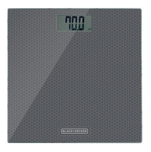 balança eletrônica de banheiro black+decker - bk40
