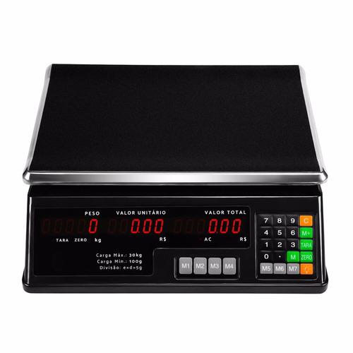 balança eletrônica digital 30kg alta precisão frete grátis