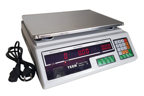balança eletrônica digital 40 kg bivolt visão dupla