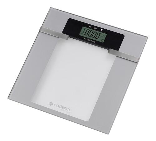 balança eletrônica inteligente 150kg branca bal200 cadence