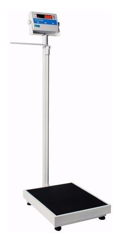 balança eletrônica médica antropométrica 200kgx50g inmetro