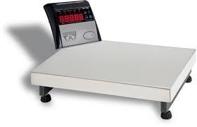 balança eletronica digital 150 kg com plataforma inox nova