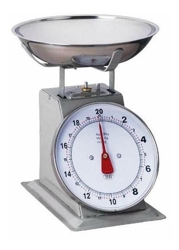 balanca em inox com bandeja em aço inoxidavel até 20kg retro