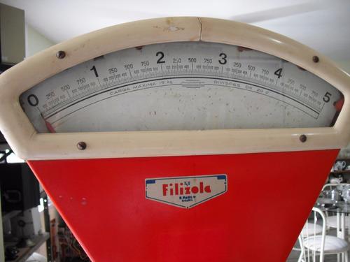 balança filizola antiga 15k original decoração retrô uso