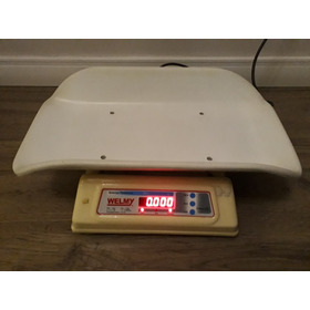 Balança Pediátrica Welmy Digital Inmetro 109e Pouco Usada