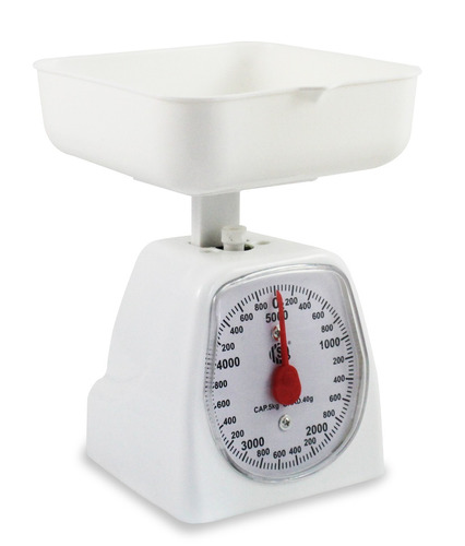 balança ponteiro de cozinha comercio até 5 kg alimento dieta