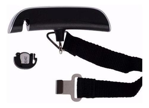 balança portátil bagagem com gancho até 50 kg mala visor lcd