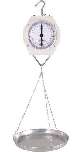 balança suspensa tipo relógio 15 kg franmar c/prato de alum