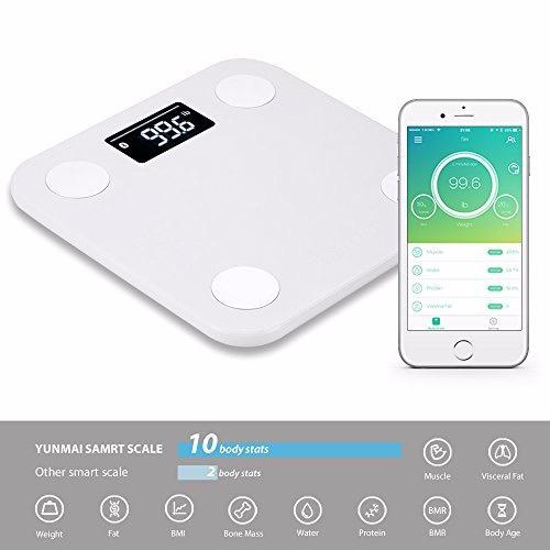 balanca yunmai bioimpedancia bluetooth com app original