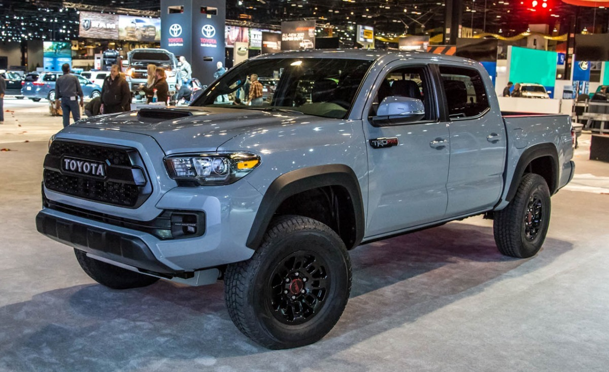 Balance Frontal, Panel Inferior Tacoma Trd Pro 2016, 17 Y ...
