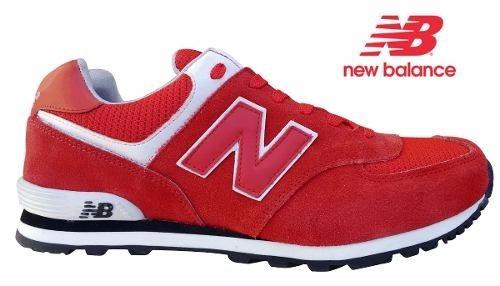 882f074cd39 Tenis New Balance 574 Masculino Vermelho - R  99