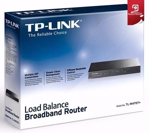 balanceador de carga banda ancha router tp-link tl-r470t+