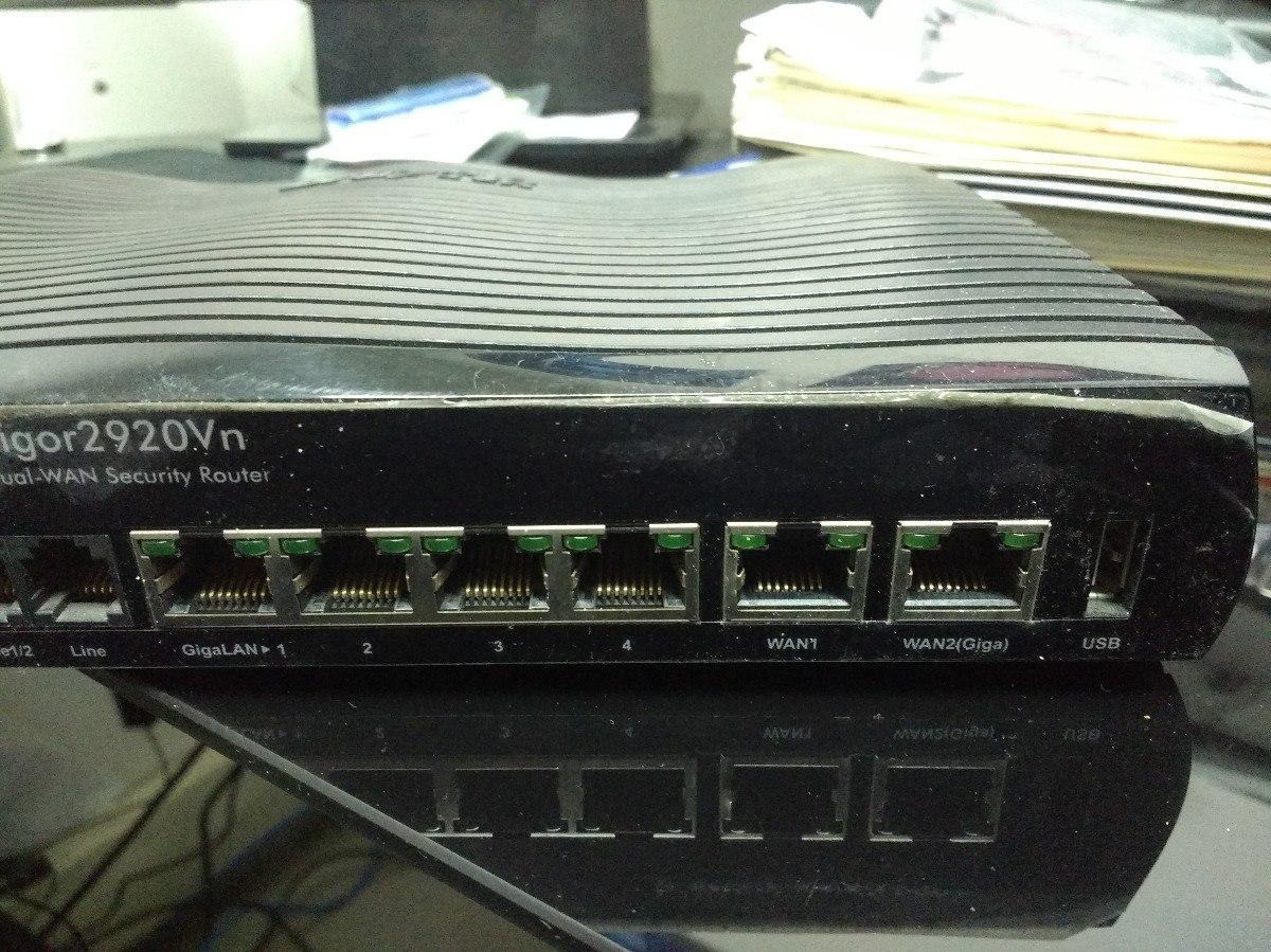 New Drivers: DrayTek Vigor2920Vn Router