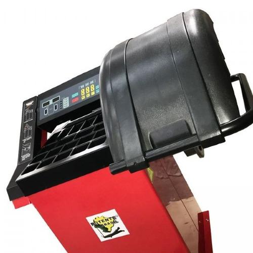 balanceadora de roda acionamento motorizado 220v - potente