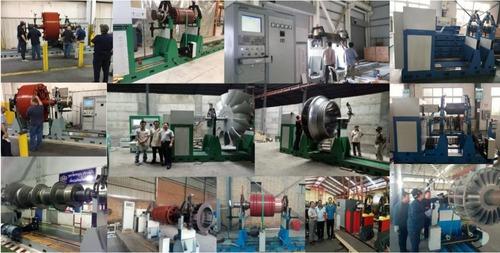 balanceadora dinamica 20 ton rotores, rodillos,impelentes