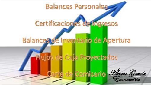 balances certificaciones proyectos y mas....