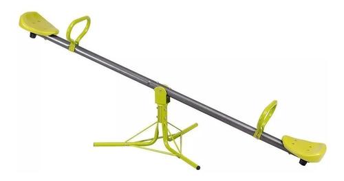 balancin sube y baja giratorio metalico niños edad 3+ 45kg