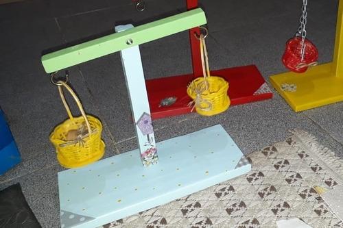 balancinha - brinquedo de madeira