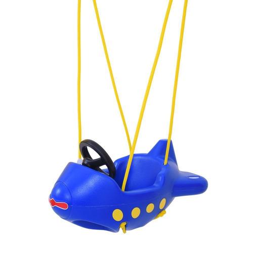 balanço infantil avião com ganchos xalingo
