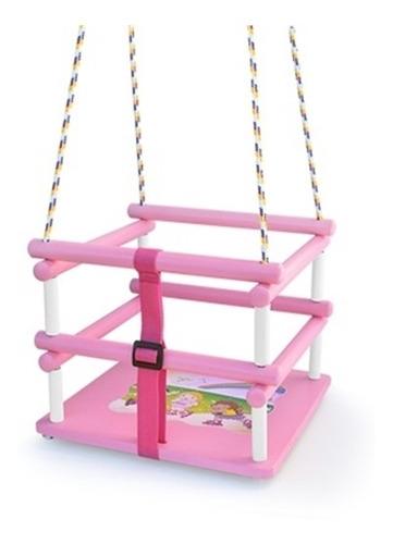 balanco infantil meninas bebe cadeirinha rosa ate 35kg junge