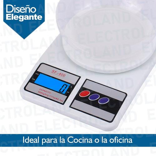 balanza alimentos cocina digital 1gr a 7kg tara