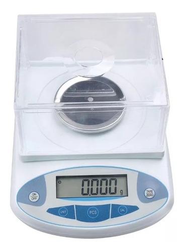 balanza analítica digital bascula de precisión  500x0.001g