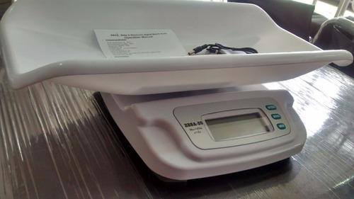 balanza - báscula electrónica digital pesa bebes 20kg