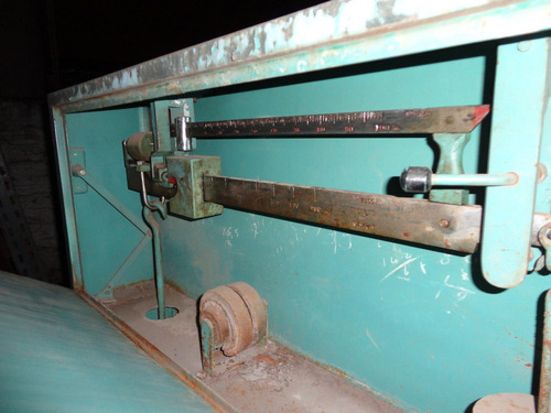 balanza bascula industrial ganado 3000 kg única! liquido ya!