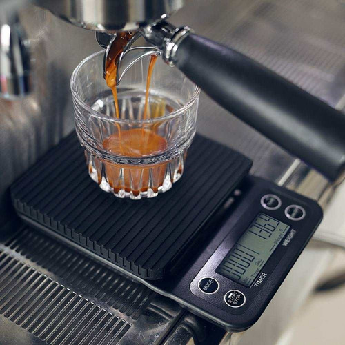 balanza cafe barista digital temporizador filtrados cuotas