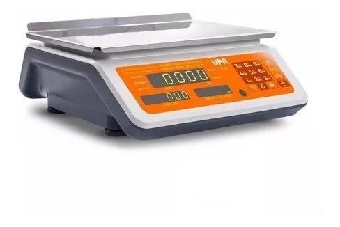 balanza comercial 30kg con bateria upa