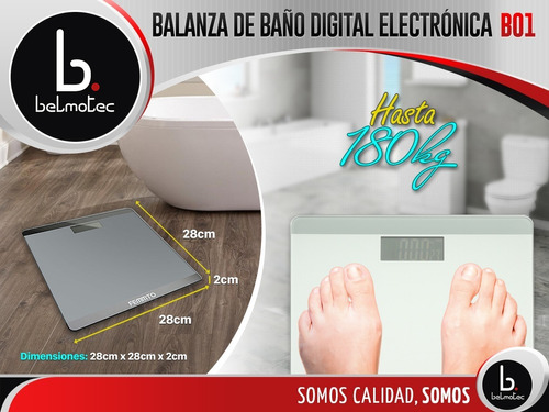 balanza de baño digital electronica cuerpo persona 180kg