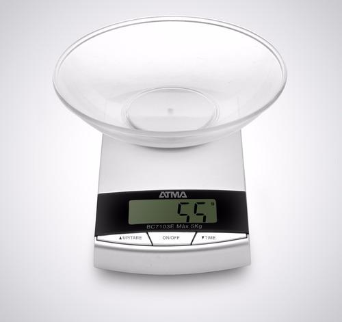 balanza de cocina 3kg pantalla digital atma bc7103n