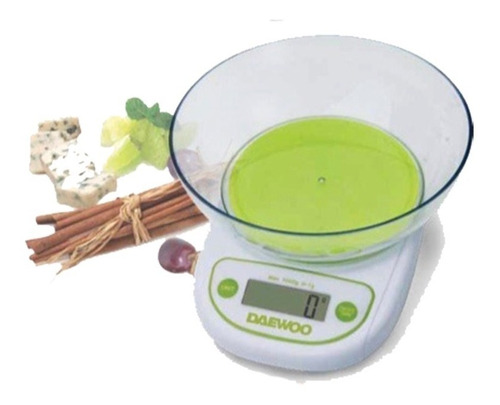 balanza de cocina daewoo digital lcd bowl dks-2054 pintumm