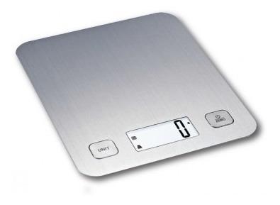 balanza de cocina de acero inoxidable daza 3 kg de capacidad