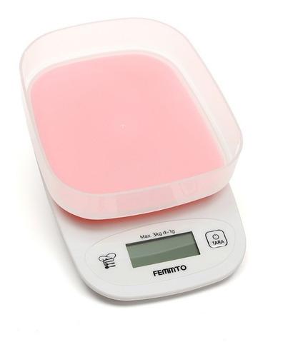 balanza de cocina digital electronica 3 kilos con bowl 2019