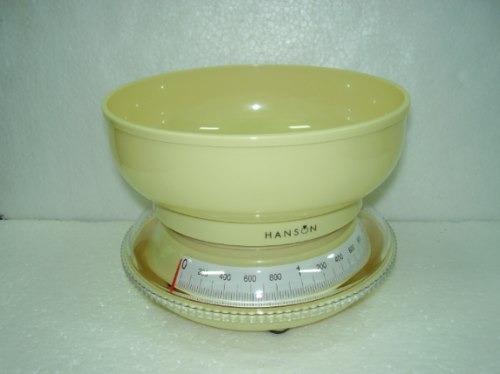balanza de cocina marca hanson fabricadas en inglaterra!