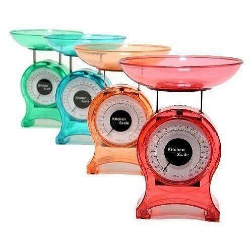 balanza de cocina transparente pesa hasta 5 kilos