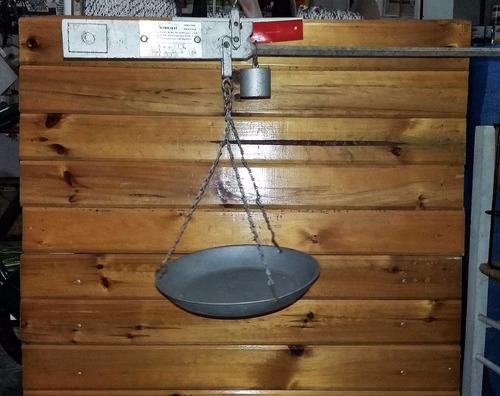 balanza de plato romana de 5 kg nueva sin uso