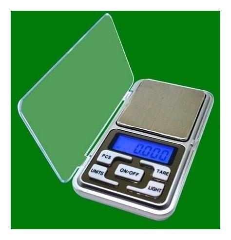balanza de precisión de 0 a 500 grs. pocket